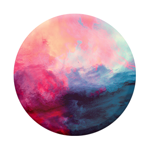 painted sky popsocket