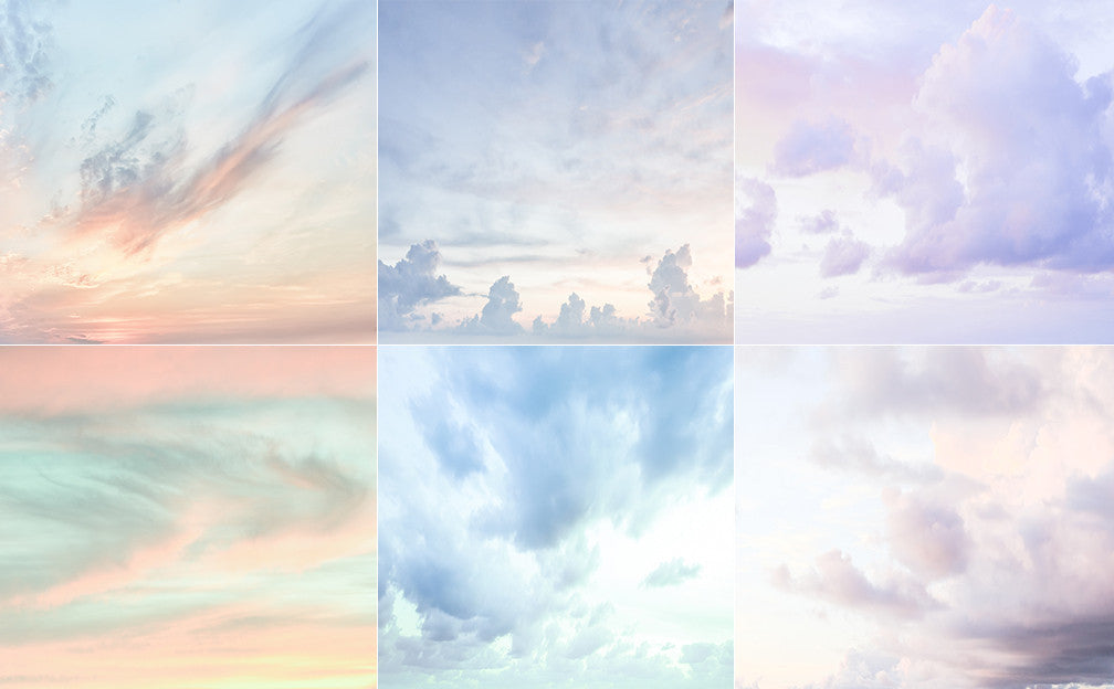 Sky Overlay Set - Includes 6 Sky Overlays