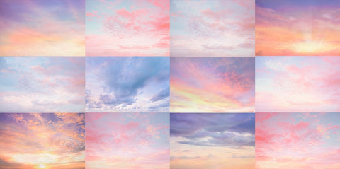 Multi Sky Overlay Set 1 - Includes 12 Sky Overlays
