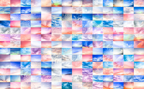 Digital Sky Overlay Collection I | Bundle includes 164 beautiful sky overlays - Modern Market