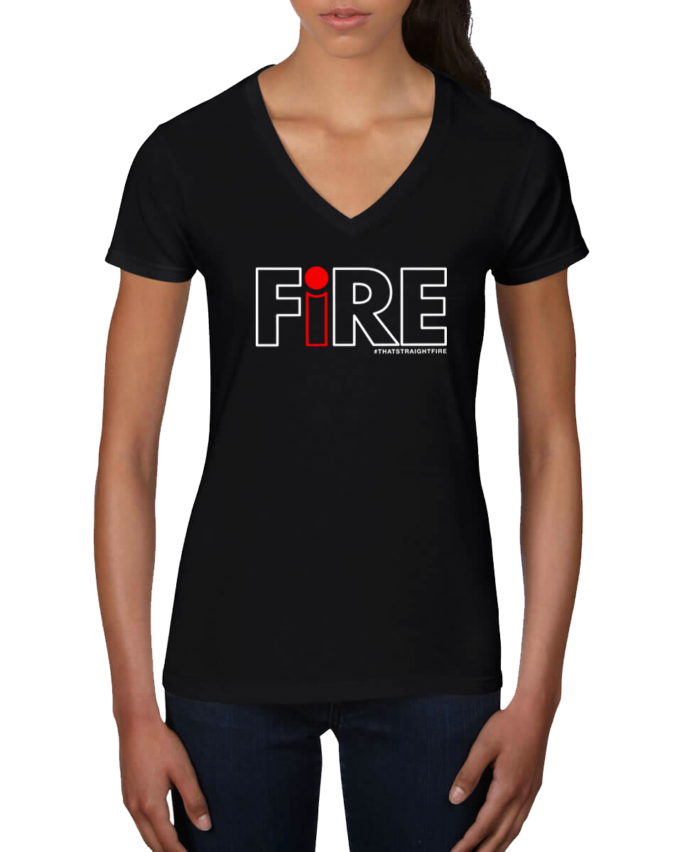 Women's FiRE t-shirt (Black)