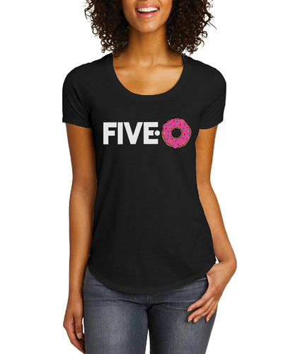 Women's FIVE-0 t-shirt (Black)