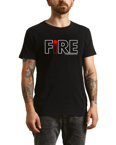 Men's FiRE t-shirt (Black)