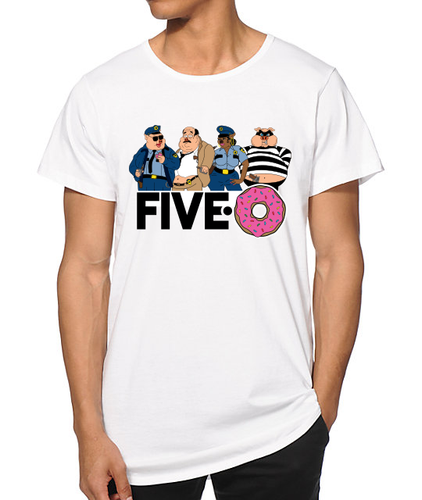 Limited Edition FIVE-0 t-shirt
