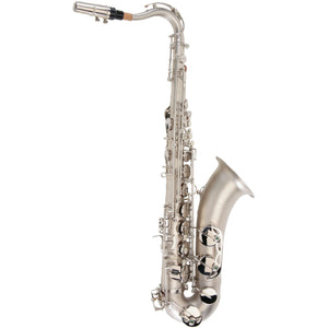 Ravel TS002NSB Sand Blasted Nickel Student Tenor Saxophone with High F#