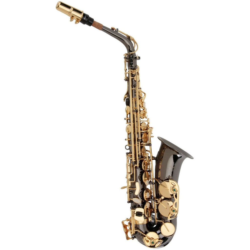 Ravel Alto Saxophone - Black Nickel Plated - Key of Eb