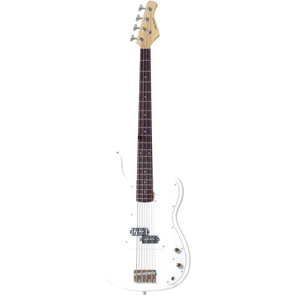 Archer SB10 P-Style White Electric Bass - White