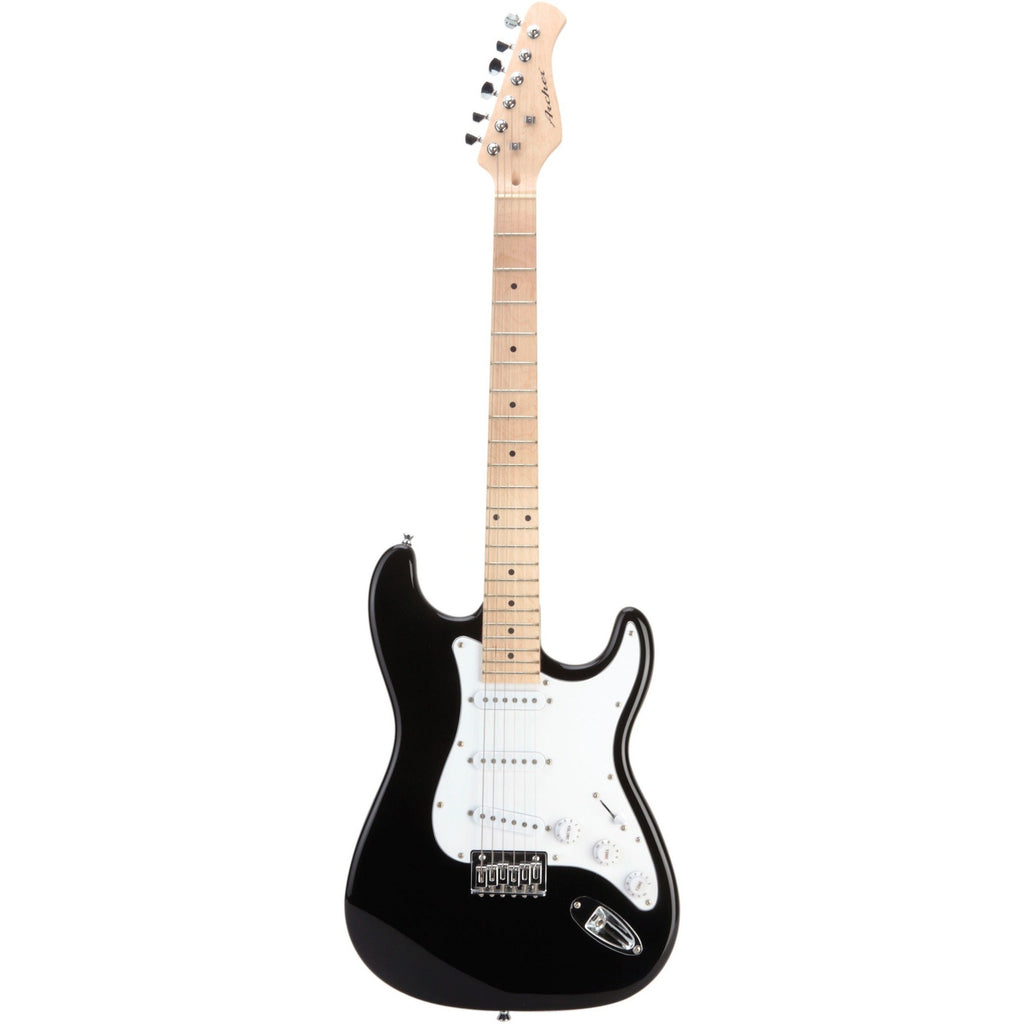 Archer SS10 Electric Guitar - Maple Neck, Black Finish
