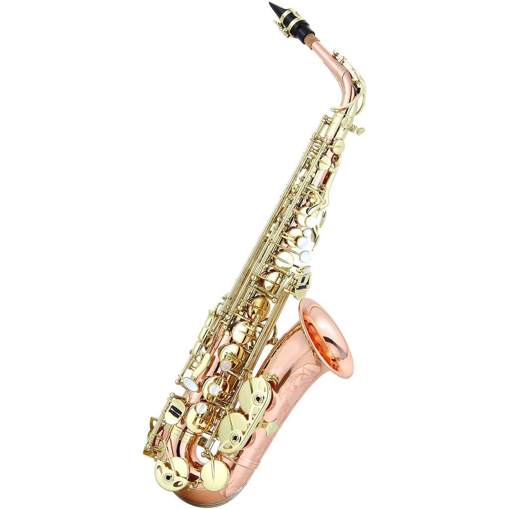 Ravel RAS302RB Paris Series Professional Alto Saxophone - Rose Brass