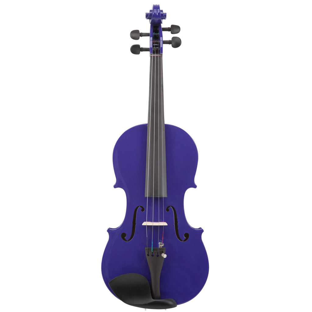 le'Var 4/4 Student Violin Outfit - Pop Purple