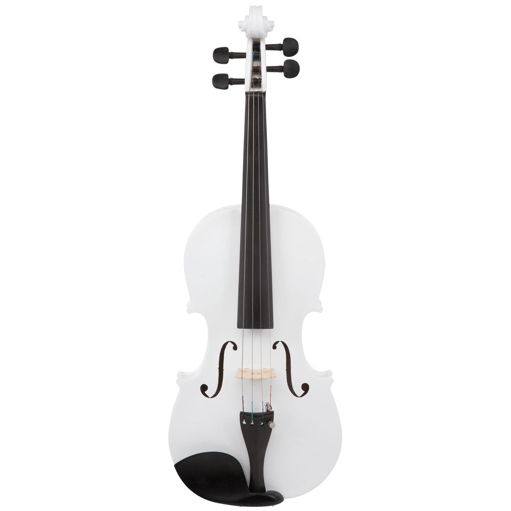 le'Var 4/4 Student Violin Outfit - Wild White