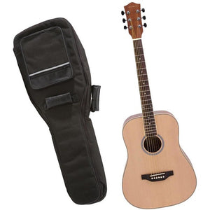 Archer - AD10 6 String Acoustic Guitar Value-Pack - Includes Guitar and Gigbag