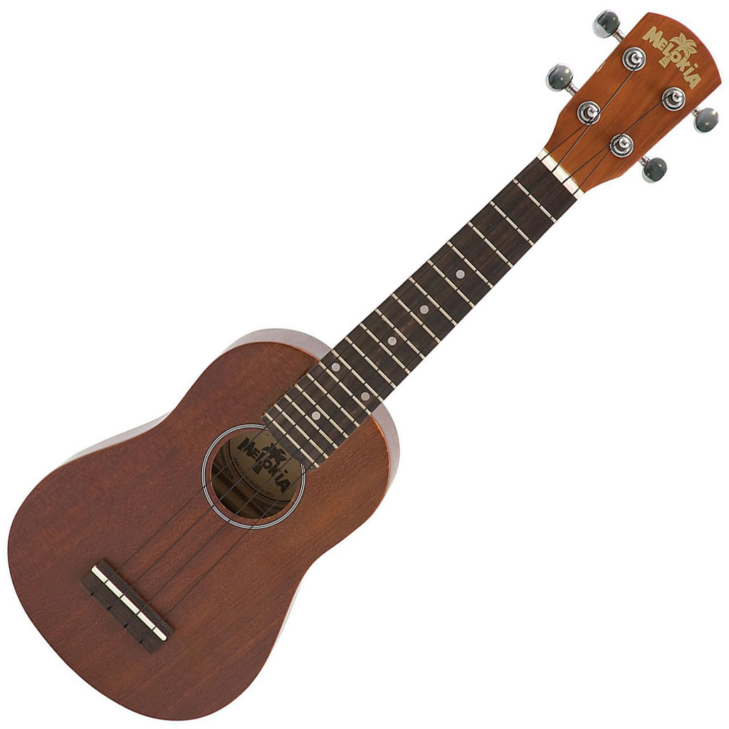 Melokia - UK13E Acoustic/Electric Soprano Ukulele - All Wood Natural