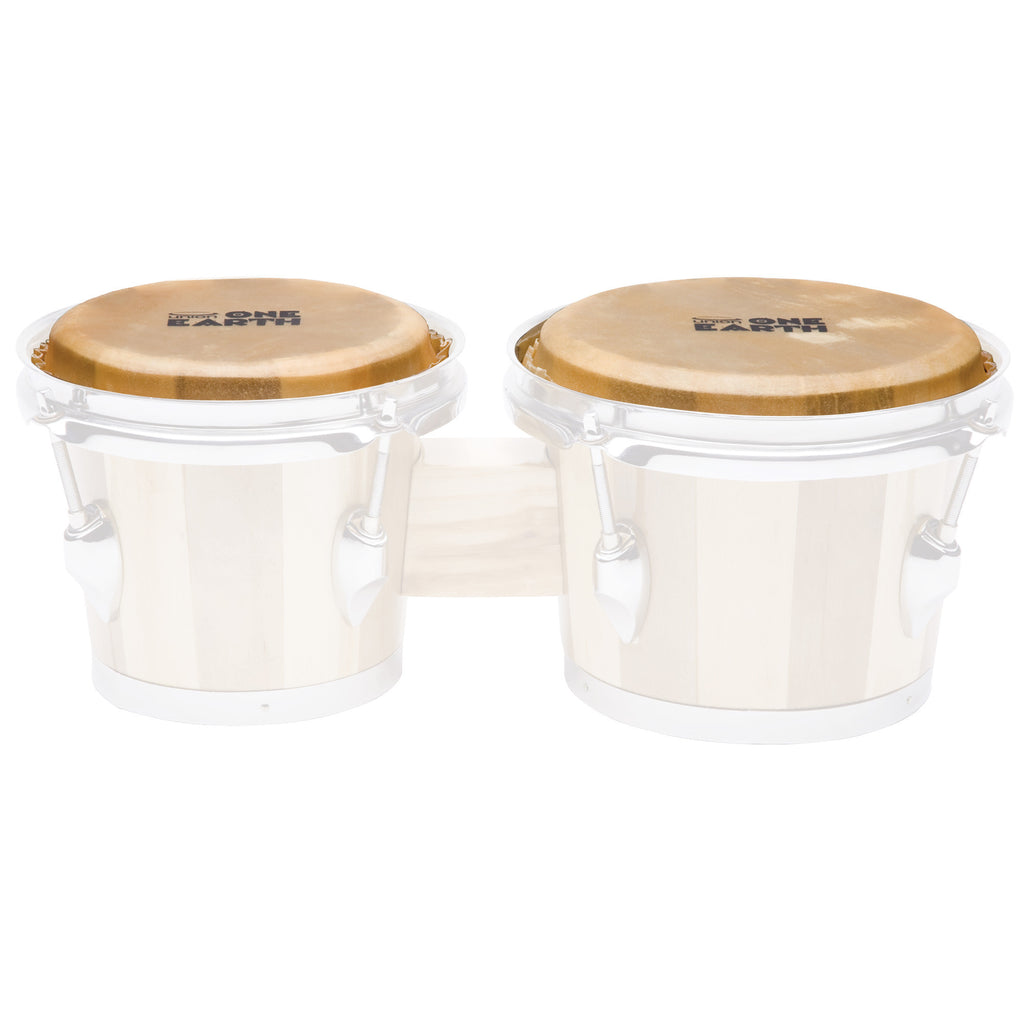 "Union 6"" & 7"" Bongo Head Pair for Union One Earth UB1 Bongos"