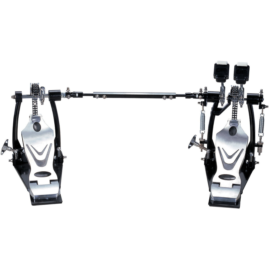 Union DDPD-669 700 Series Double Chain Double Bass Drum Pedal w/ Bag