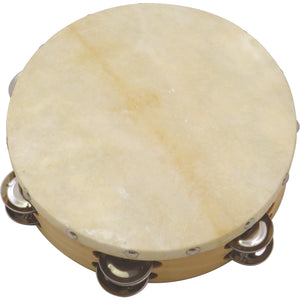 "Union 8"" Tambourine with Hide Head"