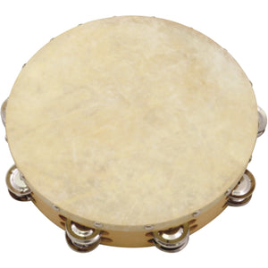 "Union 10"" Tambourine with Hide Head"
