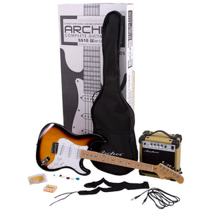 Archer SS10 Electric Guitar Package - Sunburst