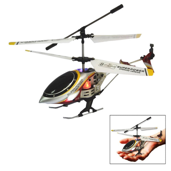 Toy Cubby Mini Alloy Design RC Helicopter Battery Operated Remote Controlled Helicopter - Red - DroneLand