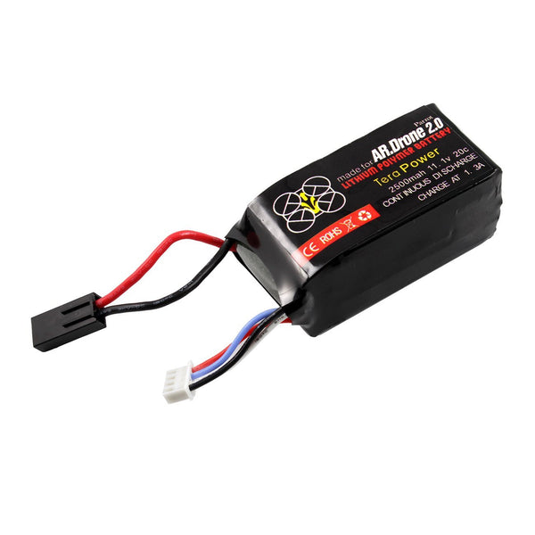 Tera 2500mah Upgrade Battery for Parrot Ar Drone 2.0 Power Edition Helicopter - DroneLand