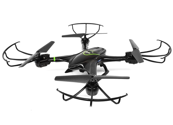 Drone with Camera, Ei-Hi S20C Mirage 2.4G Headless Auto-Return RTF Quadcopter Drone with 720 HD Camera (Black) - DroneLand