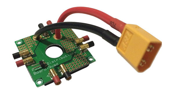 Quadcopter Power Distribution Board XT60 XT-60 20a Quad Mutlicopter 3.5mm - DroneLand
