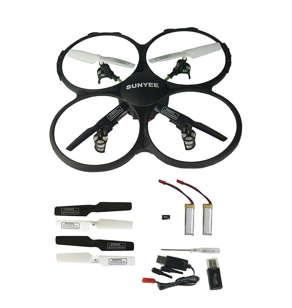 *Latest SUNYEE Sky Carrier U818A 2.4GHz 4 CH 6 Axis Gyro RC Quadcopter with Camera UFO drone - DroneLand