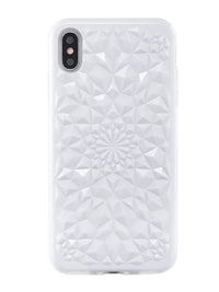Gloss White Kaleidoscope iPhone Case - SALE