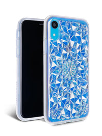 Clear Cosmic Holographic Kaleidoscope iPhone Case - SALE