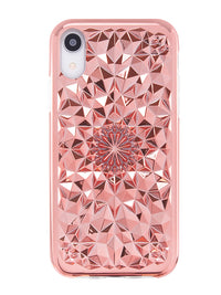 Rose Gold Kaleidoscope iPhone Case