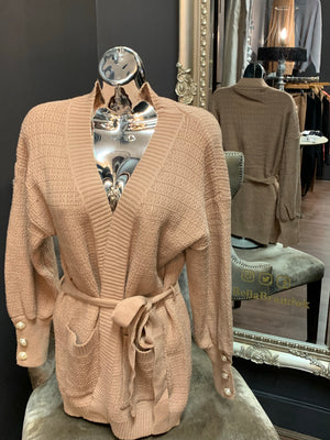 The Lottie Wrap-round Cardi - Bella Boutique