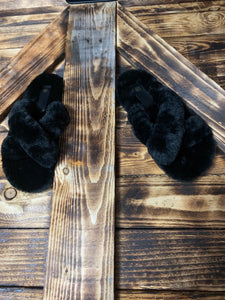 Criss Cross Slippers - Bella Boutique