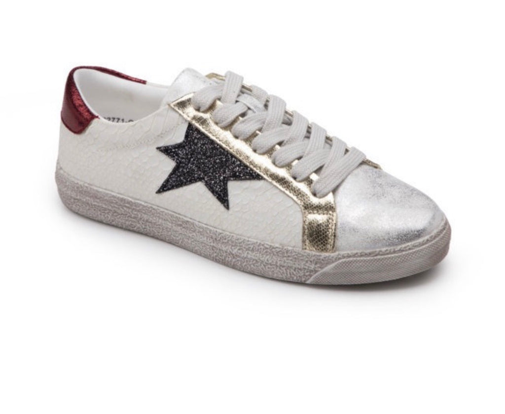 Star & Stripe Sneaks - Bella Boutique
