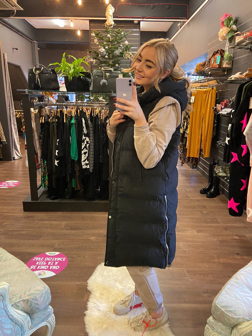 Petra Padded Gilet - Bella Boutique