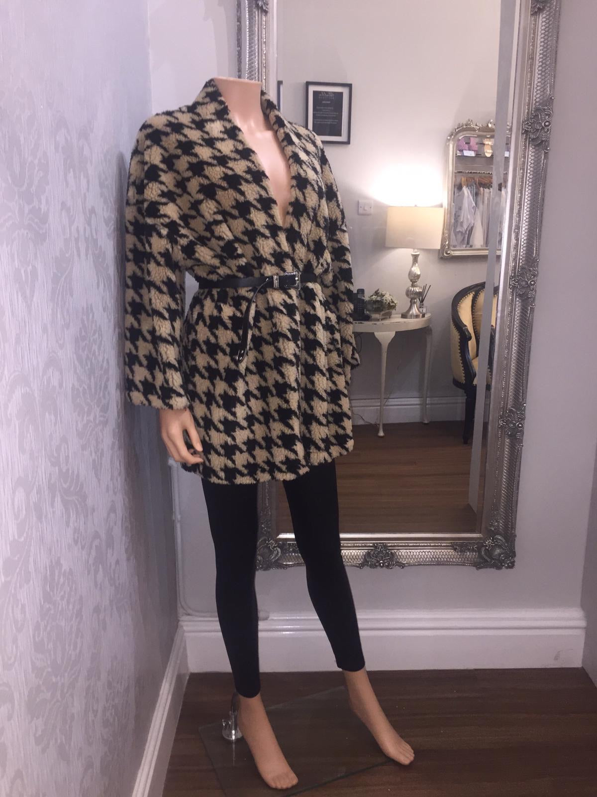 The Hariette belted coat - Bella Boutique