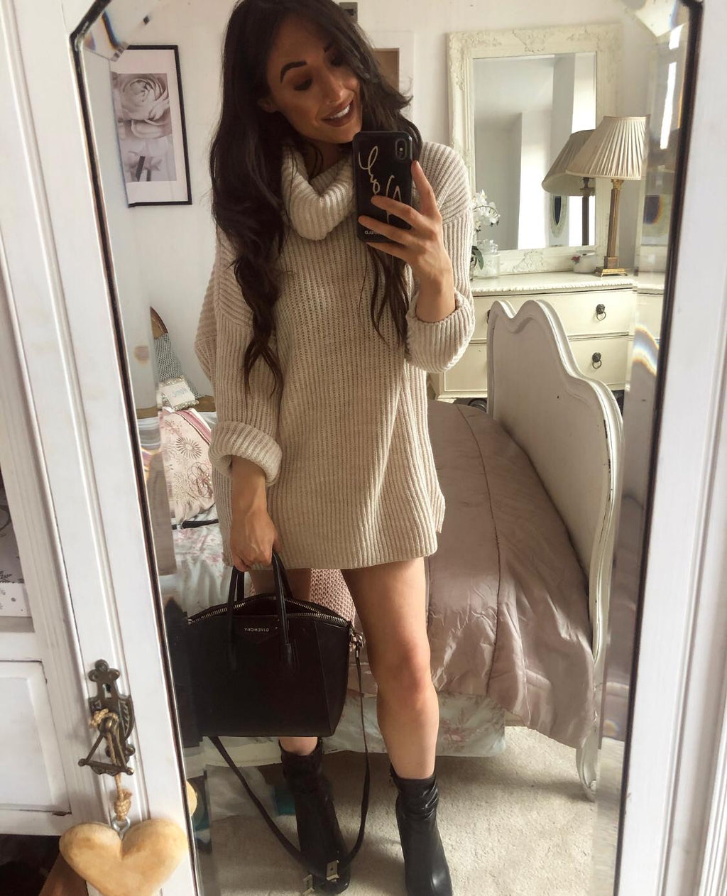 Jenna Jumper Dress - Bella Boutique