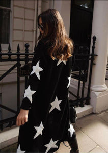 Star Cardigan - Bella Boutique