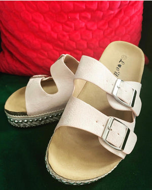 The Paloma Sandals - Bella Boutique