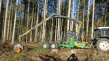 FARMA 6.6 forestry trailer packs lot of lifting capacity into a small package!