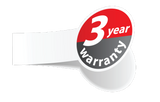 KRPAN standard 3 year warranty