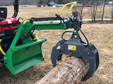 FARMA skidding grapple for tractor 3 point hitch