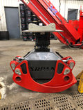 Grapple and Rigid Rotor for Excavator