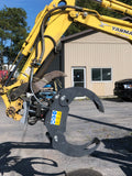 54'' Grapple and Rigid Rotor for Excavator
