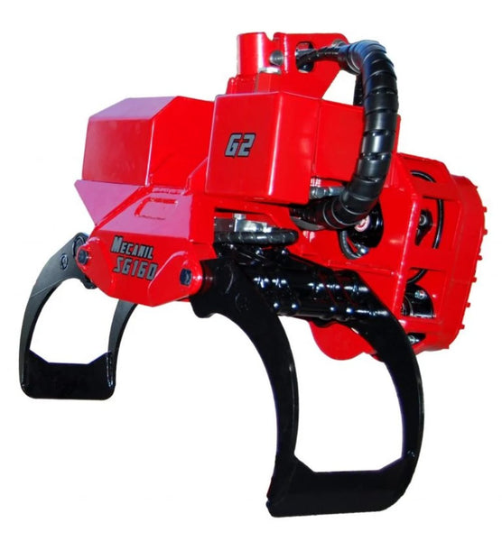 Mecanil SG160 grapple saw for Tree mek knuckleboom