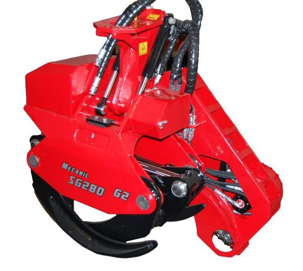 Mecanil SG280 felling grapple