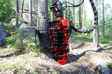 Beautiful image of Mecanil grapple saw felling tree