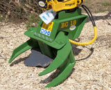 FARMA BC18 tree shear for excavators from 3 to 5 tons. Shears trees upto 7 inches.