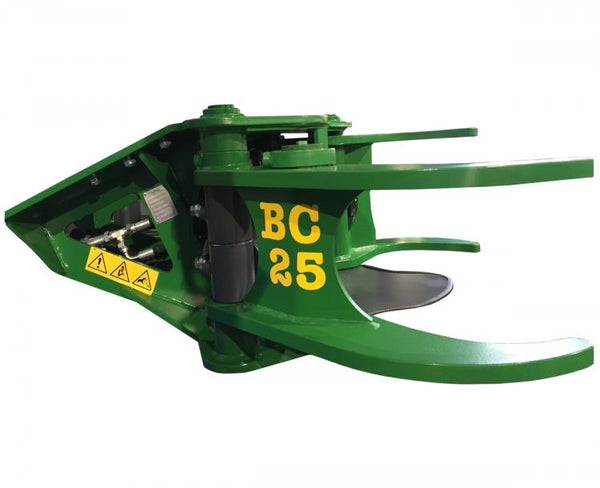 Side view high quality image of the FARMA BC25 tree shear.