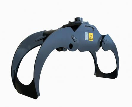50 inch log grapple perfect for installation on excavator or knucklebooms