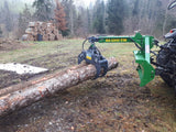 FARMA log skidding grapple for tractor 3 point hitch.